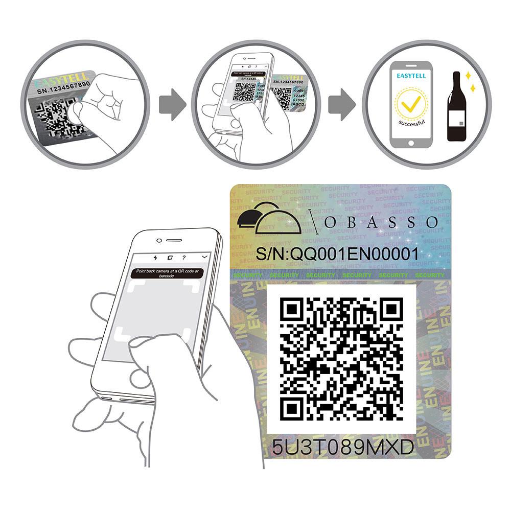 EASYTELL Product Verification Center | QR Code Scan Verification