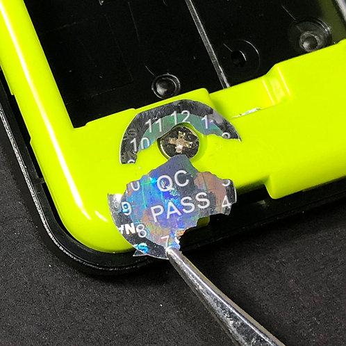 QC Pass/100pcs/フラジールステッカー/電子機器ねじ開封防止ステッカー