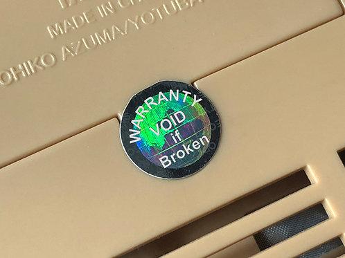 Warranty Void if Seal Broken Label /100pcs/フラジールステッカー/電子機器ねじ開封防止ステッカー