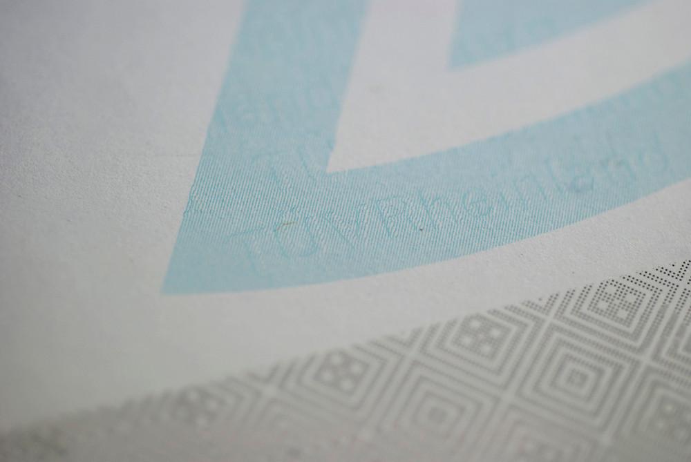 Relief Engraving Printing Pattern