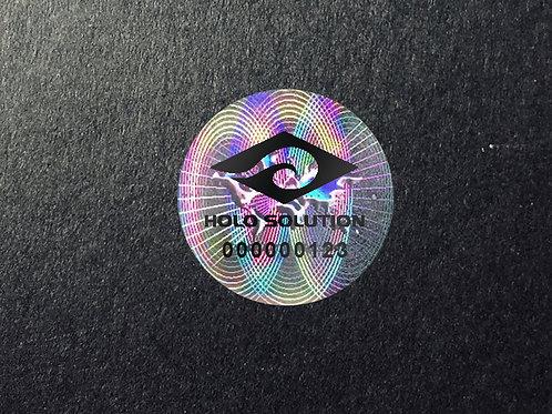 レーザープリント偽造防止ラベル   CL-02