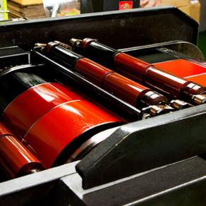 Cylinder Label Printing Process
