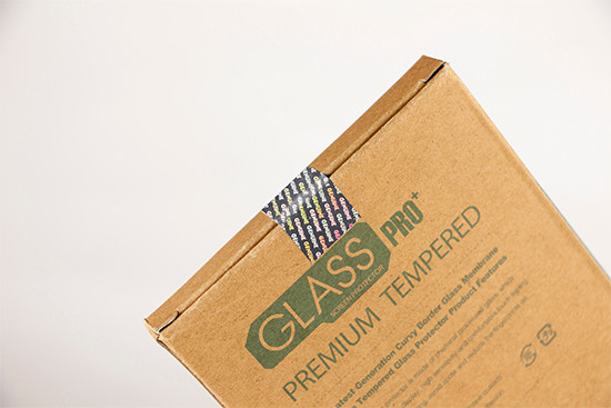 package-tamper-evident label