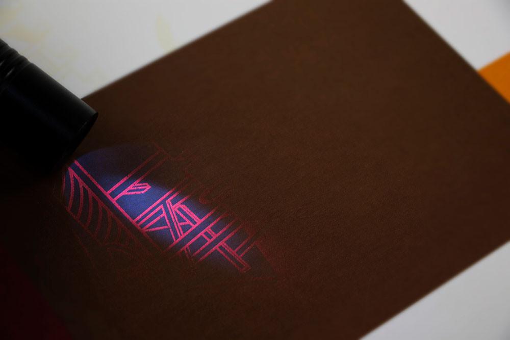 UV隱形防偽印刷彩盒
