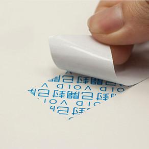 全轉移防拆貼紙|封口封緘貼紙
