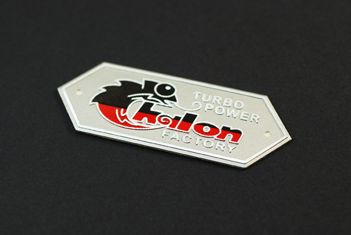 Etching Nameplate Stickers