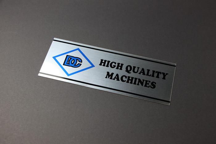 Printing Nameplate