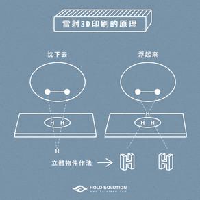 雷射全像印刷為什麼可以有3D立體感?