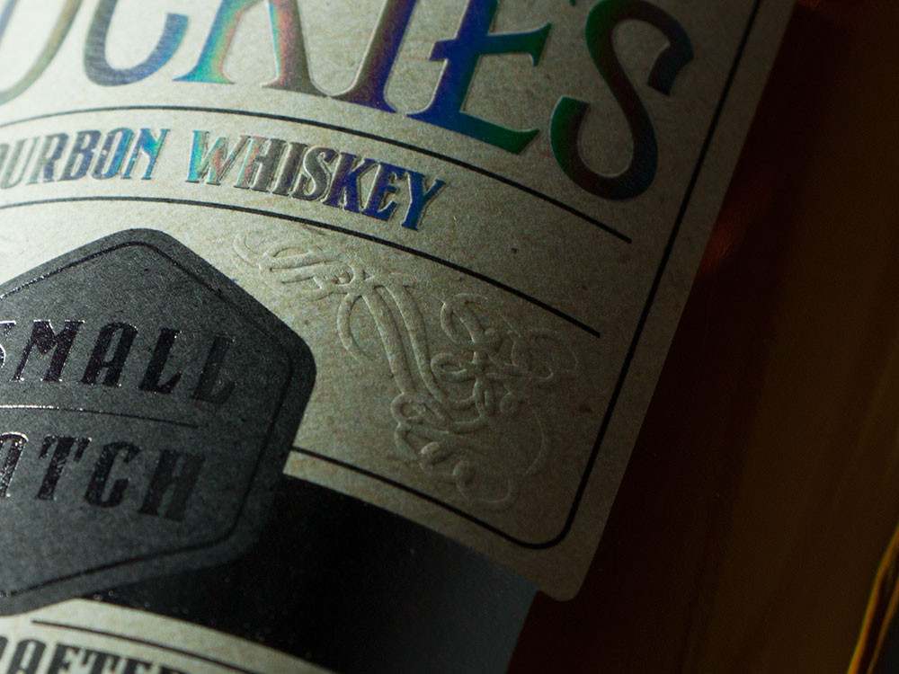wine label printing and embossing