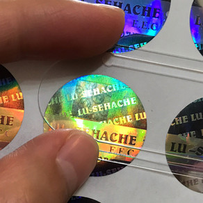 Special edition Holograph Embossing | Custom Flat Hologram Labels