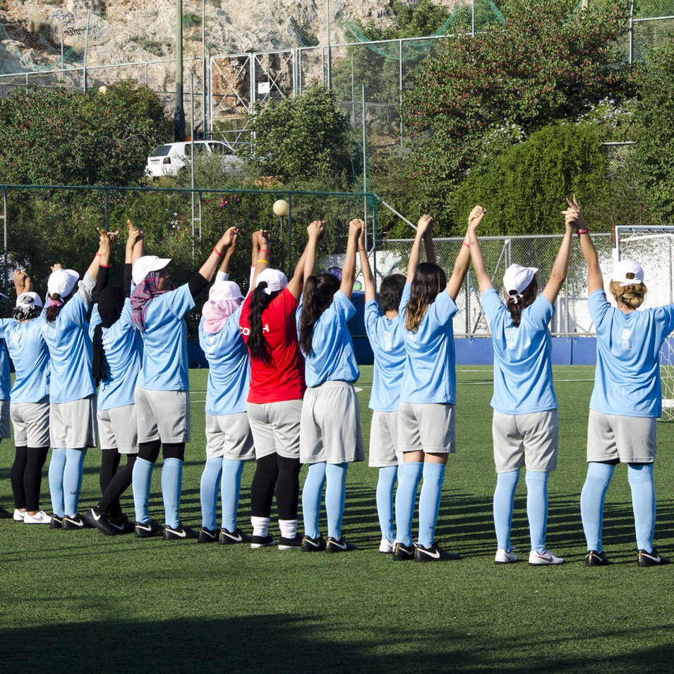 Summer Football Camp για ασυνόδευτα παιδιά