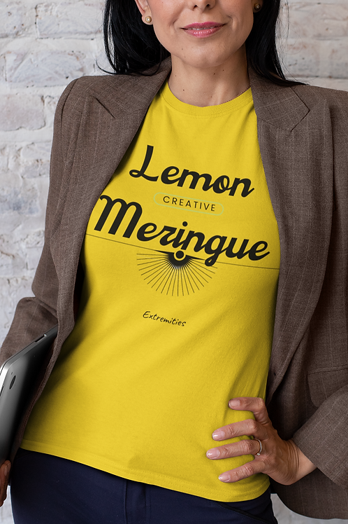 Lemon Meringue - Unisex Jersey Short Sleeve Tee