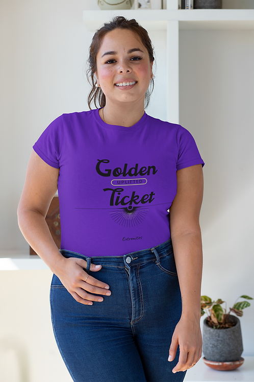 Golden Ticket - Unisex Fitted Tee