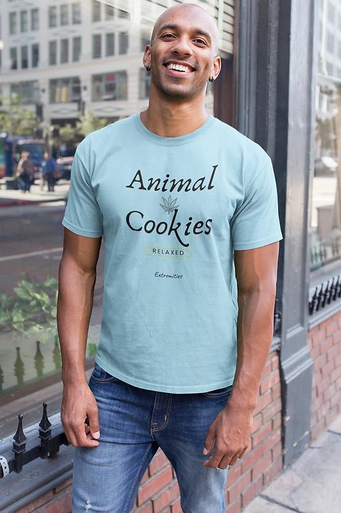 Animal Cookies - Men's Fitted Short Sleeve Tee