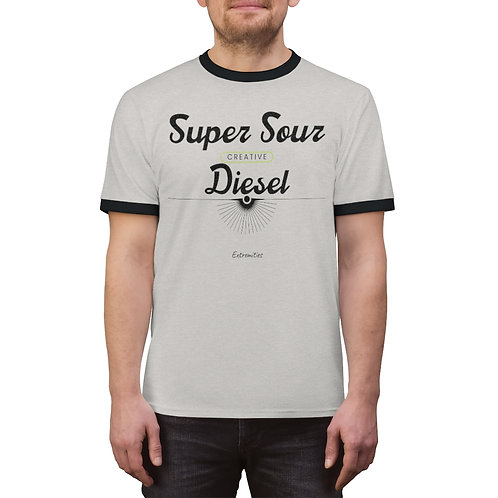 Super Sour Diesel - Unisex Ringer Tee