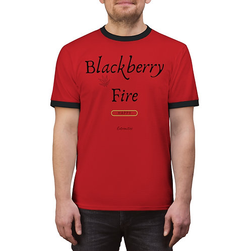 Blackberry Fire - Unisex Ringer Tee