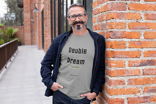 Double Dream - Unisex Jersey Short Sleeve V-Neck Tee