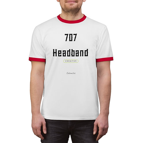 707 Headband - Unisex Ringer Tee