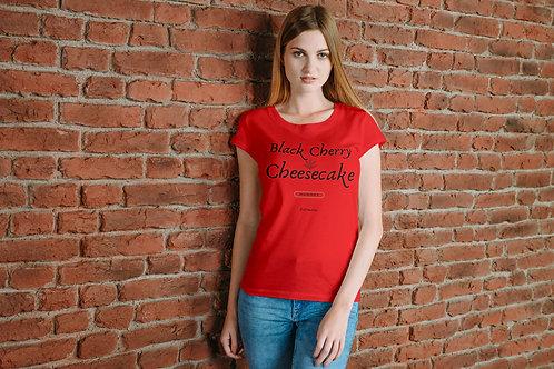 Black Cherry Cheesecake - Unisex Jersey Short Sleeve Tee