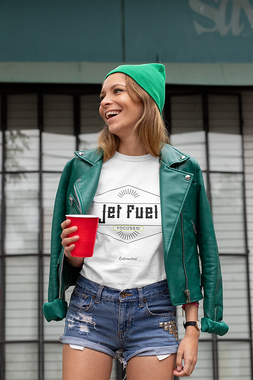 Jet Fuel - Unisex Jersey Short Sleeve Tee