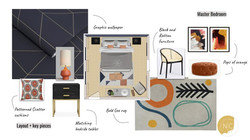Graphic Modern Bedroom