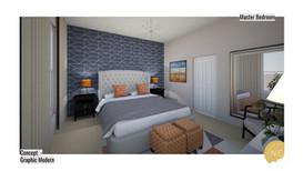 Graphic Modern Room design