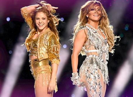 Jlo & Shakira Super Bowl Show