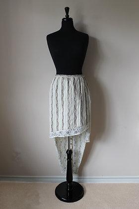 Handmade Asymmetrical Romantic Era Skirt