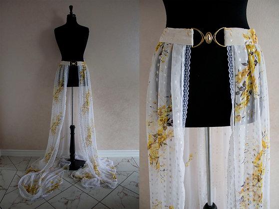 Yellow Blossom Over Skirt