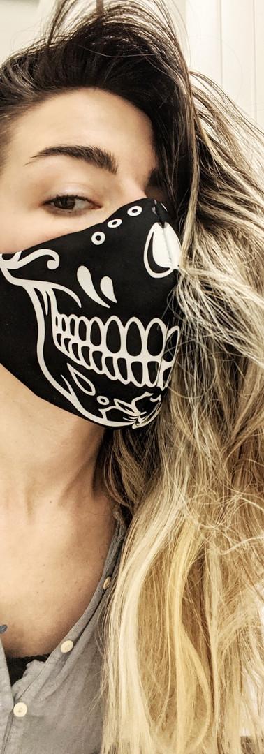 Custom Vinyl Printed Mask
