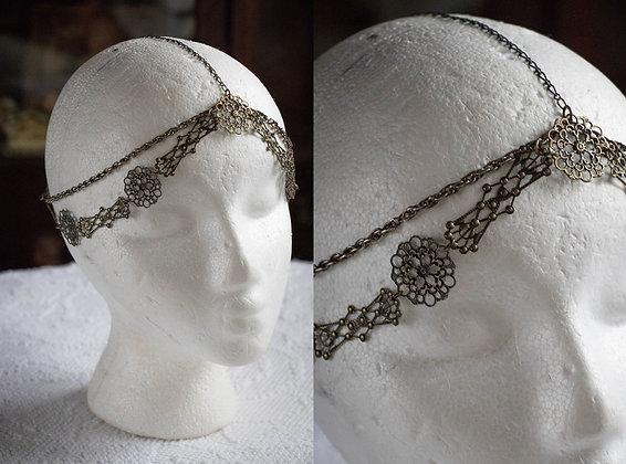 Brass Filigree Head Chain