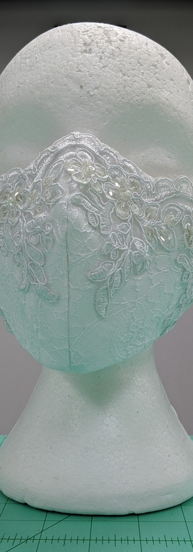 Custom Wedding Mask