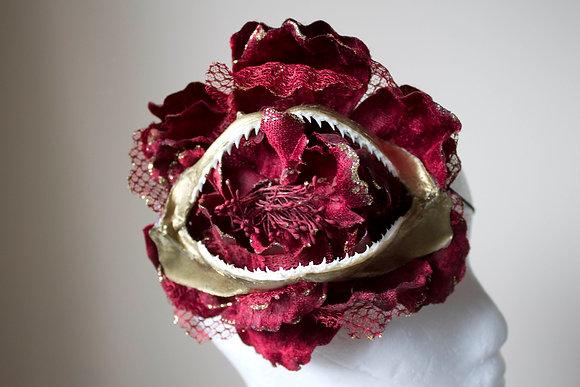 Gilded Shark Jaw Head Piece