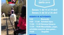 Colonias Semana Santa 2019
