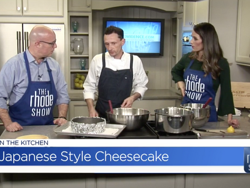 Agawam Hunt in the Kitchen with The Rhode Show - Providence Restaurant Week
