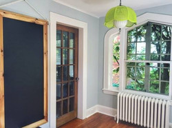 Chalkboard Build & Room Painted