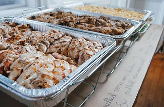 Catering delivery services available throughout Rhode Island