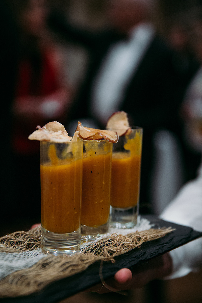 Soup Shooter, appetizer, providence, easy entertaining