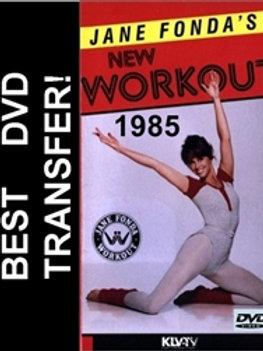 Jane Fonda's New Workout DVD 1985 Fondas