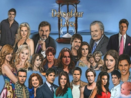 Days of Our Lives External Hard Drive  Complete Collection DVD 6 TB