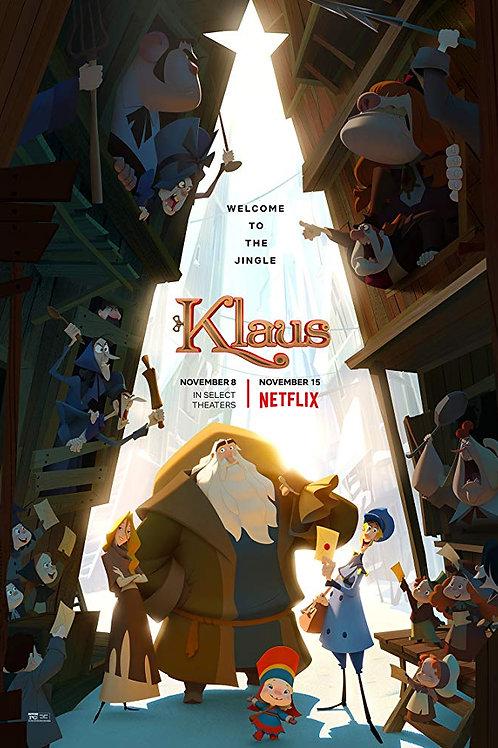 Klaus (2019) DVD