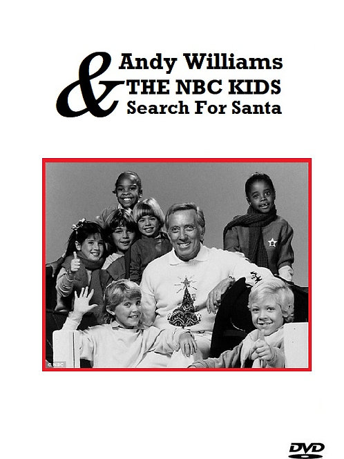 Andy Williams and the NBC Kids Search for Santa 1985 DVD
