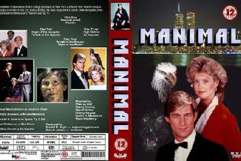 Manimal Complete Series on 4 DVD's