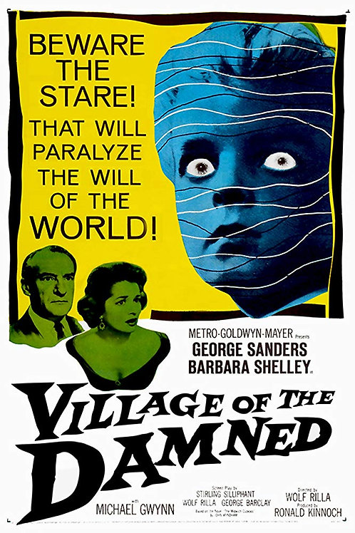 Village of the Damned 1960 DVD