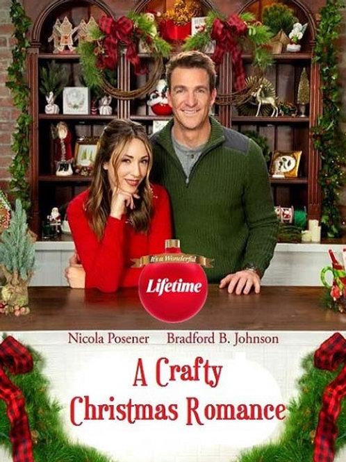 A Crafty Christmas Romance DVD
