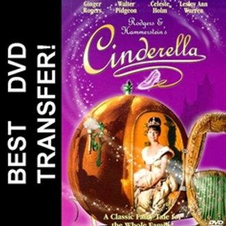 Rogers Hammerstein Cinderella DVD 1965 Lesley Ann Warren TV