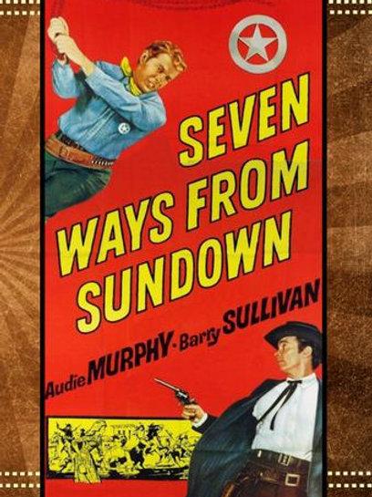 Seven Ways From Sundown 1960 DVD