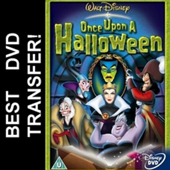 Once Upon A Disney Halloween DVD 2005 Region 1 USA