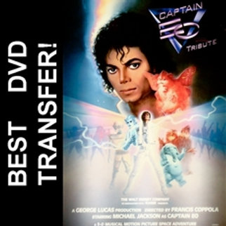 Captain EO DVD 1986 with Michael Jackson
