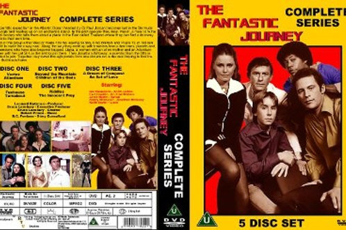 The Fantastic Journey Complete Series on 5 DVD's